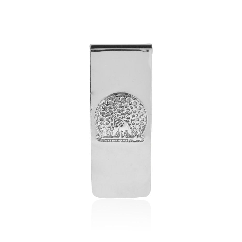 Mayo College Jewellery by KHWAISH - Mayo Money Clip Silver Polish Front