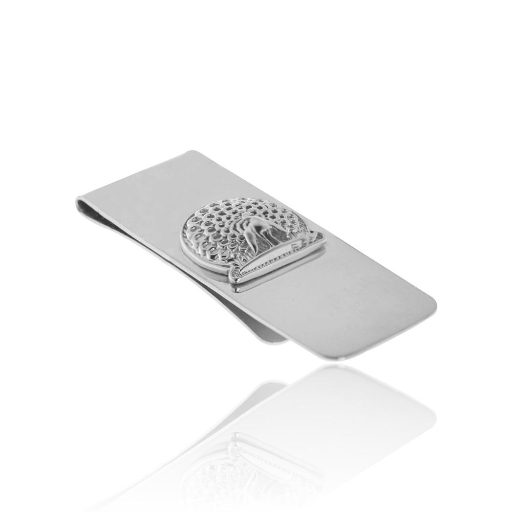 Mayo College Jewellery by KHWAISH - Mayo Money Clip Silver Polish Side