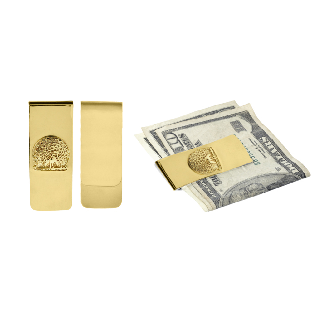 Mayo College Jewellery by KHWAISH - Mayo Money Clip Gold Polish All View