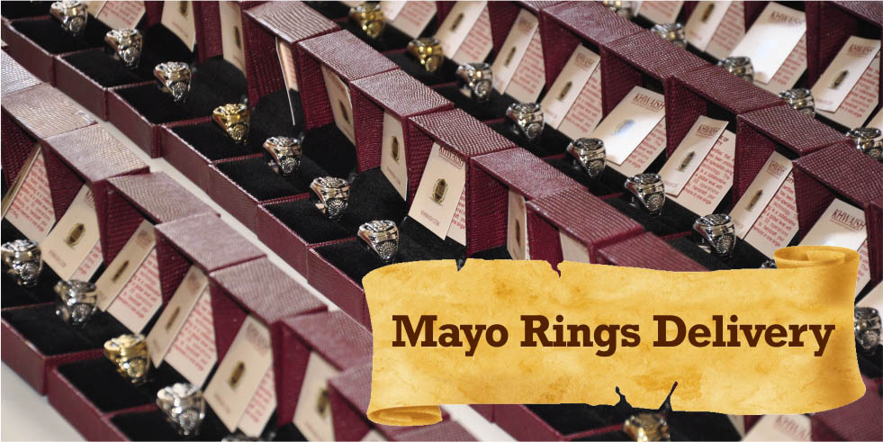 Mayo College Jewellery - Ring Delivery to complete batch of 2016