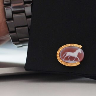 Full Horse Cufflinks by Khwaish Jewels Jaipur