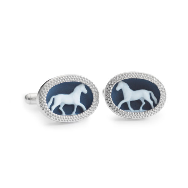 Horse-Cufflink by Khwaish Jewels Jaipur